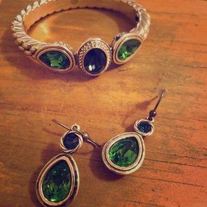 Brighton bracelet and earrings